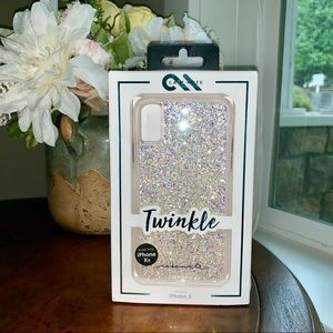 💜🦄💜Case-Mate in Twinkle: Fits iPhone X and Xs